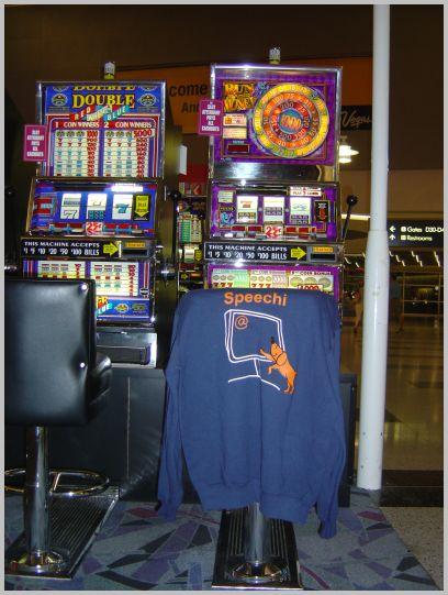 Chemise Speechi égarée à Las Vegas