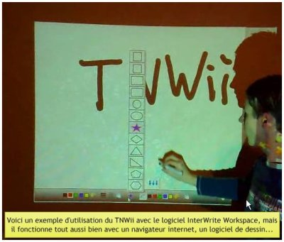 Wii avec logiciel Interwrite