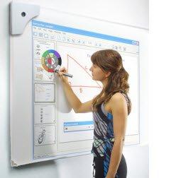 Tableau blanc interactif avec coque