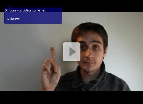 Partage, diffusion, vidéos