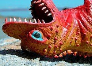Dinosaure fixe