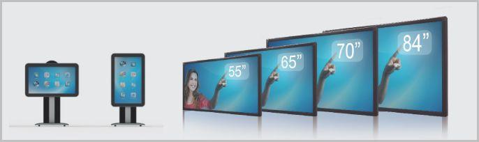 écrans interactifs SpeechiTouch