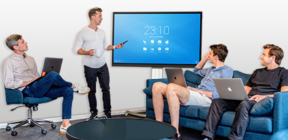 ecran interactif tactile