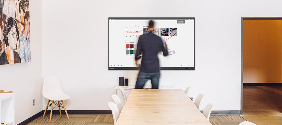 écran tactile en entreprise