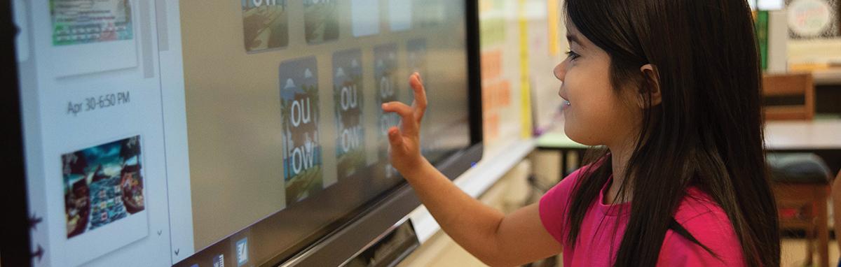 l'écran interactif en milieu scolaire