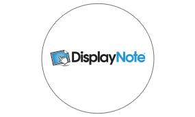 displaynote pour écrans tactiles
