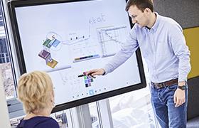 interactivite de l ecran interactif