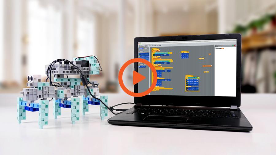 apprendre à programmer avec un robot éducatif