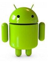 android in een touchscreen