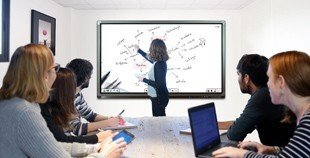 classroom touch screen