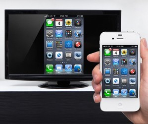 mirroring : broadcast your phone screen or tablet on your tv