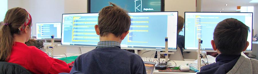 logiciel de programmation pour l'école