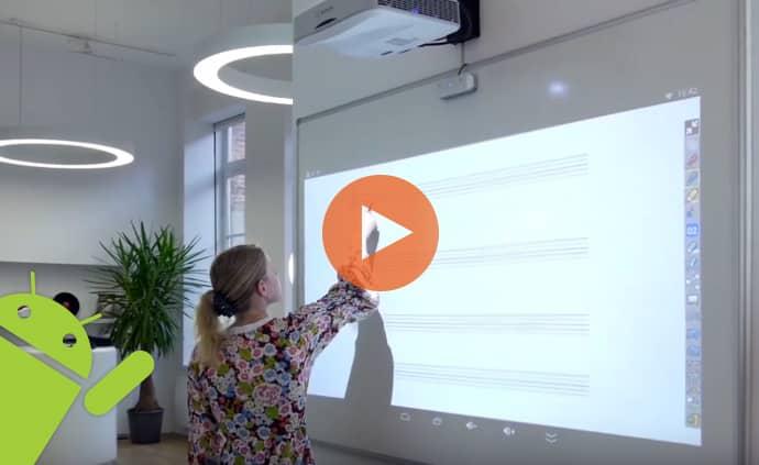 video videoprojecteur interactif spe-400