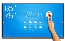 "Android SpeechiTouch 65″ or 75"" interactive screens"