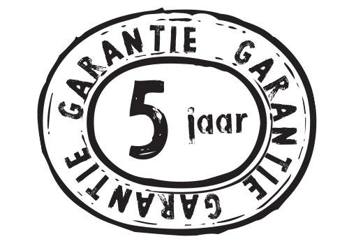 Garantie 5 jaar