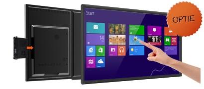 HD touchscreen
