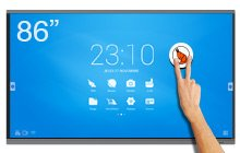 SpeechiTouch 86″ and 98″ giant touchscreen – UHD interactive screen