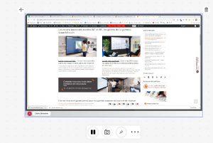 partage d'écran avec le logiciel Sofa