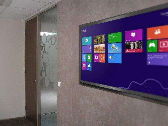 cloison interactive Ellers pour ecran tactile