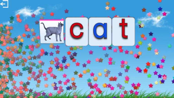 L'anglais sur un écran interactif tactile