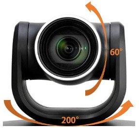 Orientation Caméra Full HD pour visioconférence et vidéoconférence