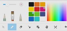 palette écriture écran interactif