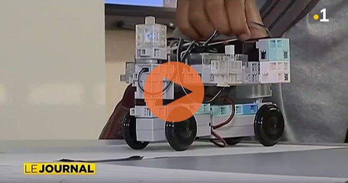 reportage robotique ecole programmation