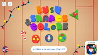 Apprendre les formes et les couleurs sur un écran interactif tactile