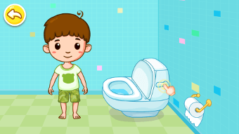 Apprendre l'hygiène sur un écran interactif