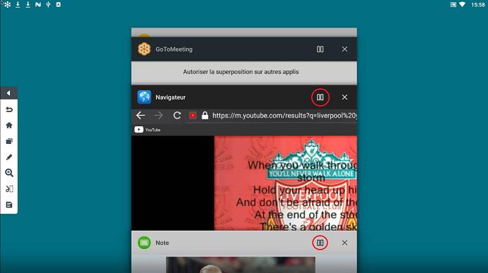 la nouvelle possibilité des écrans interactifs