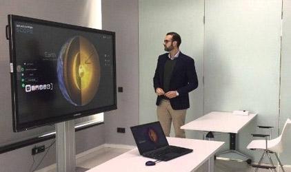 Clevershare interagissez à distance avec un ecran Clevertouch