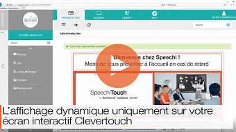tutoriel de l affichage dynamique sedao live