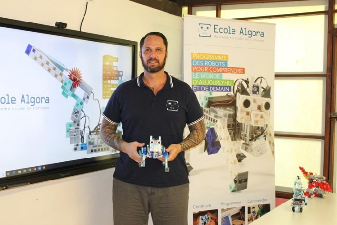 apprendre à programmer avec la méthode algora et un robot programmable