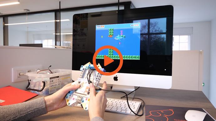 La vidéo de démonstration du logiciel Studuino animation