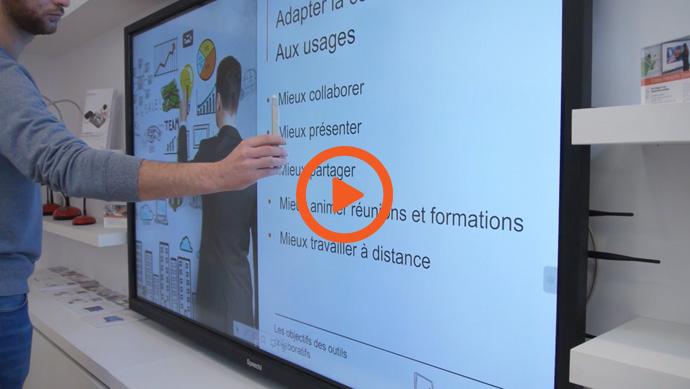 Fonctionnalité de reconnaissance doigt / stylet pour écran tactile SpeechiTouch