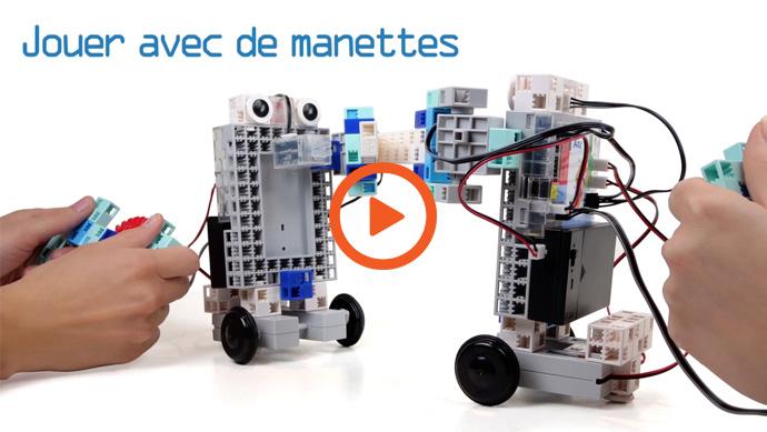 La video du manuel 10 de programmation Ecole Robot : jouer avec des manettes