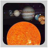 Comprendre le système solaire sur un écran interactif Android