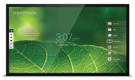 ecran interactif capacitif clevertouch