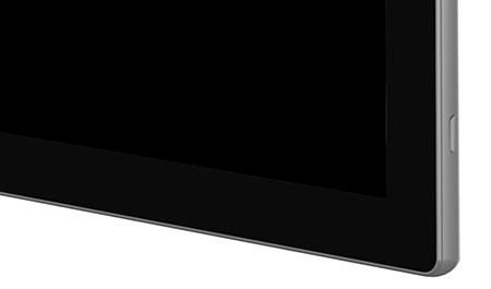esthétique de l'écran interactif tactile speechitouch capacitif