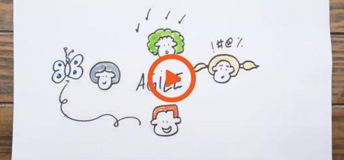Une vidéo sur la facilitation graphique et l'agilité