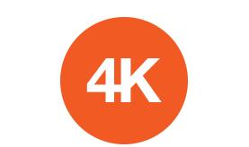 4K resolution of the 4K ePTZ Speechi camera