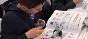 apprentissage de la robotique à l'école
