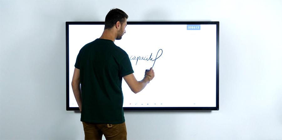 écran interactif capacitif