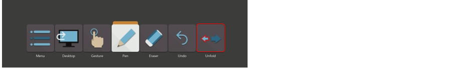 raccourcir la barre d'outils sur lynxpro meeting