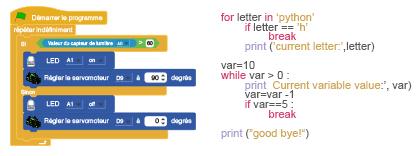 scratch python   apprendre programmation
