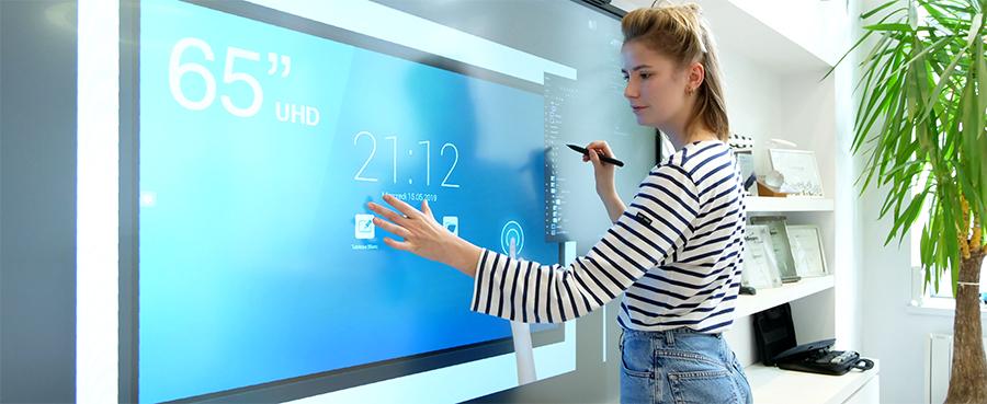 photoshop écran interactif superglass