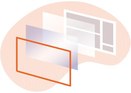 verre écran interactif