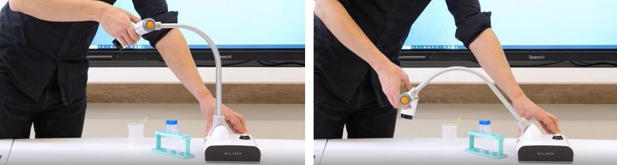 visualiseur de bureau l-12iD flexible