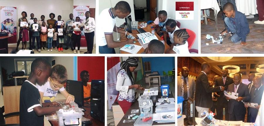 école de programmation robot Congo