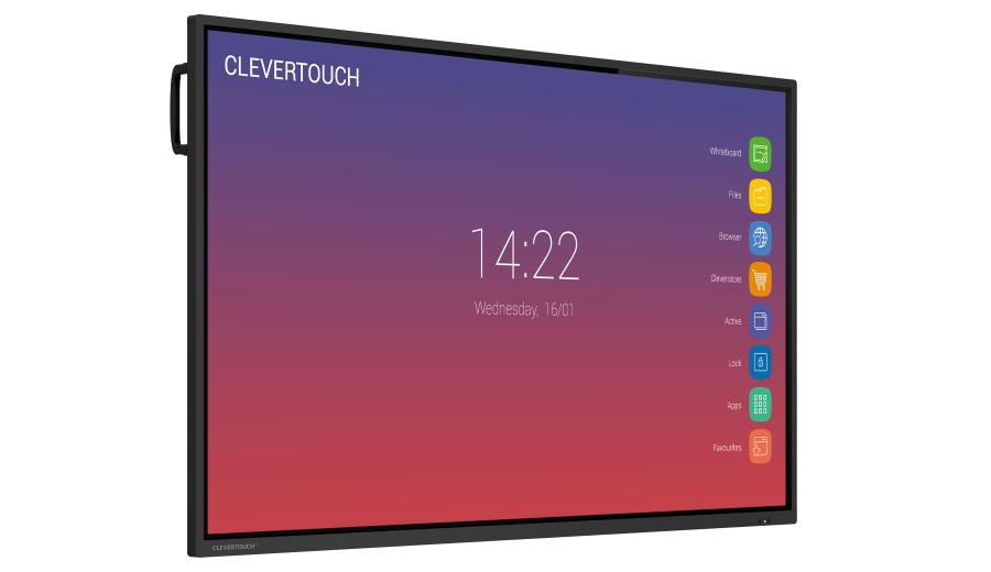 écran interactif Clevertouch petit prix - gamme IMPACT